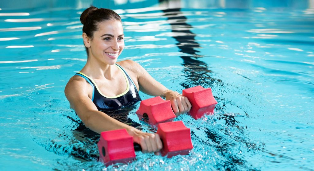 The Unique Health Benefits of Pool Exercises